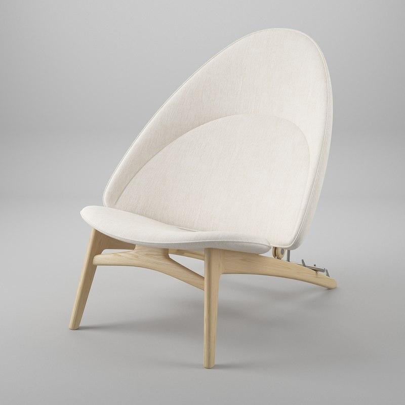 tub chair wegner pp 3ds