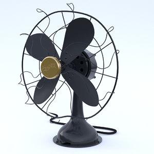 obj westinghouse fan