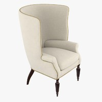 3d wainscott wing chair victoria