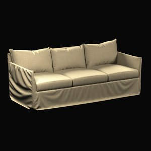 3ds max sofa cypress outdoor slipcovered