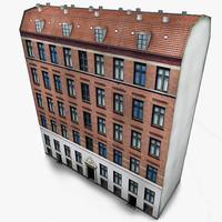 3d model copenhagen house