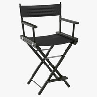 Director Chair 2 Black