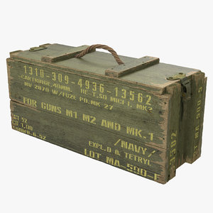ammo crate green max