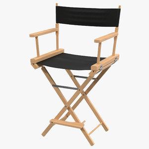 3d director chair 2