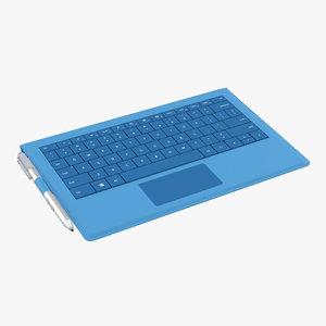 microsoft surface pro 3 3d 3ds