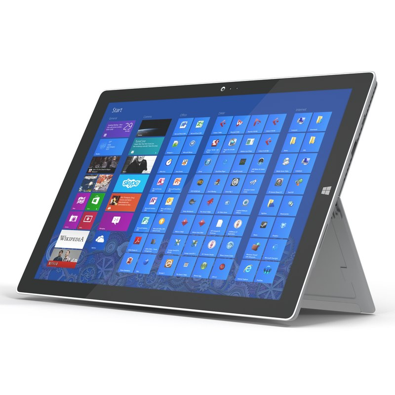 microsoft surface pro 3 3ds