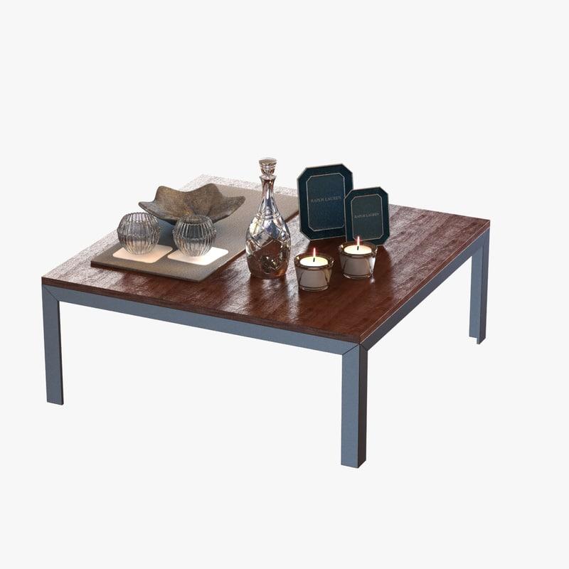 3d max table decor