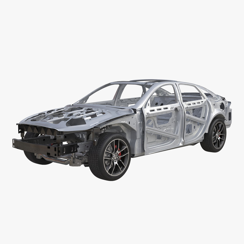 car frame chassis 3 max