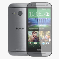 htc mini 2 dark gray 3d c4d