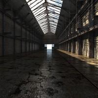 Old Warehouse Interior v2