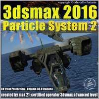 038 3ds max 2016 Particle System 2 volume 38 cd front