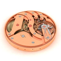 3d watch mechanism