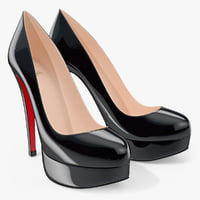 3d shoes louboutin bianca