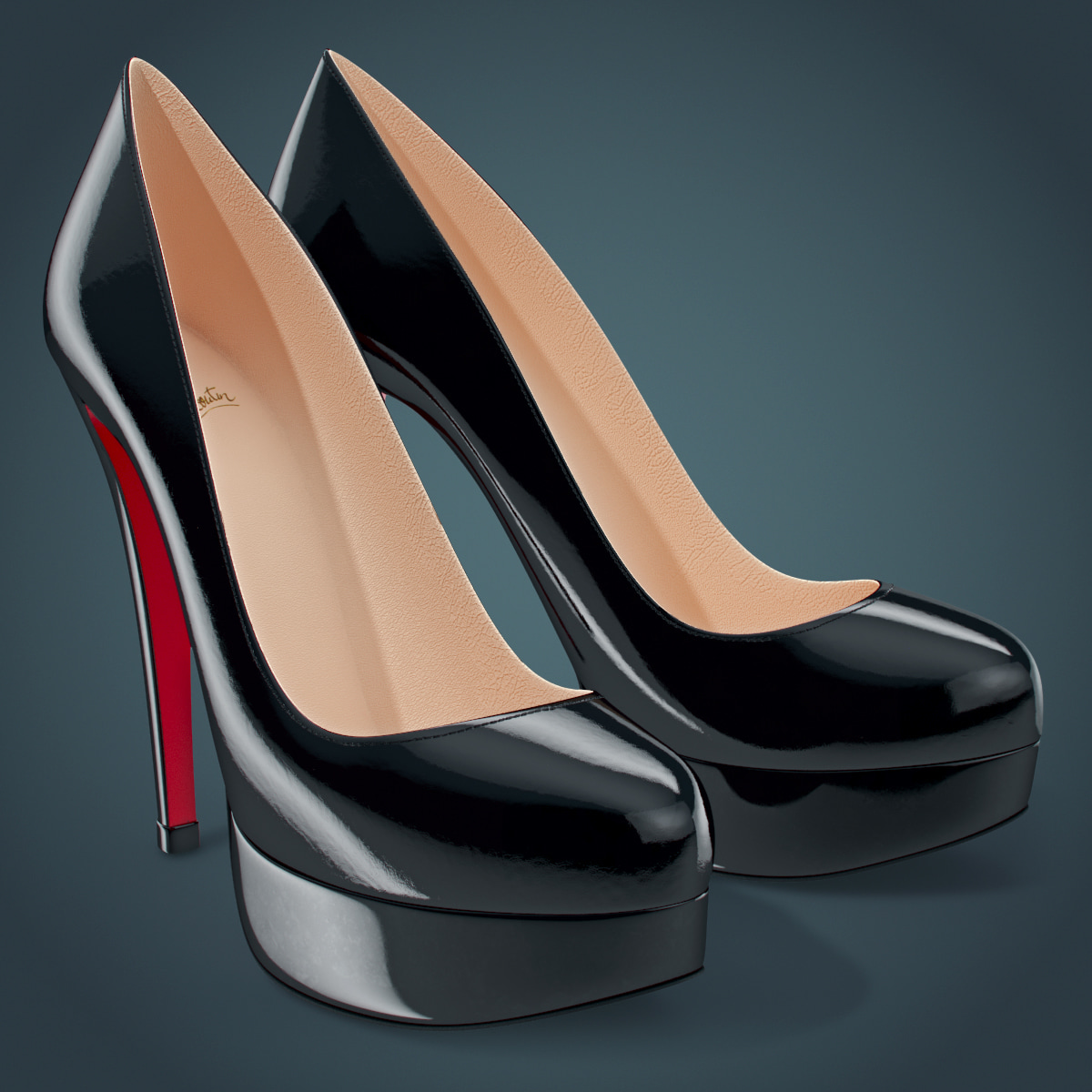 3d shoes louboutin bianca
