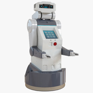 3d model jeeves robot service