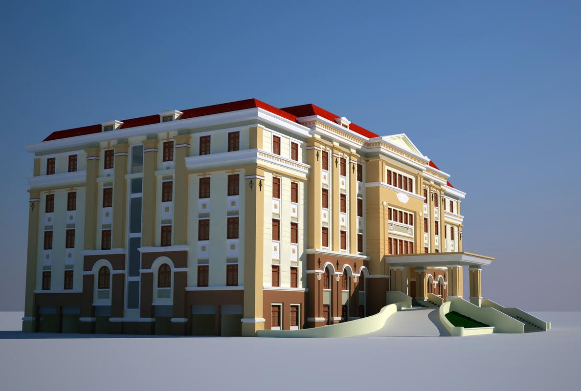 3d model office house