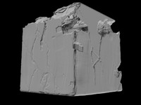 3d old stone