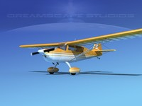 citabria 7kcab propeller 3ds