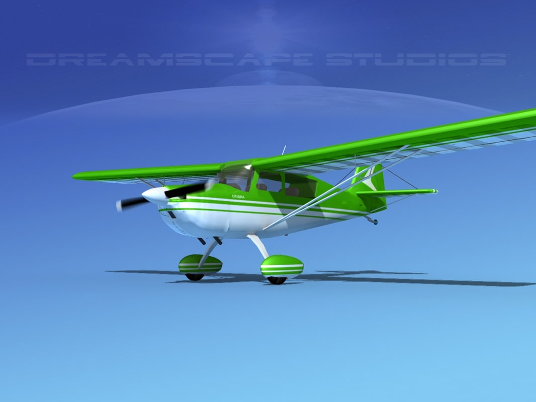 3d model citabria bellanca