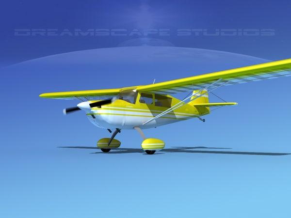 3d model citabria 7kcab propeller