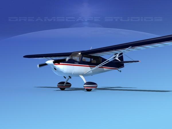citabria 7kcab propeller 3d 3ds
