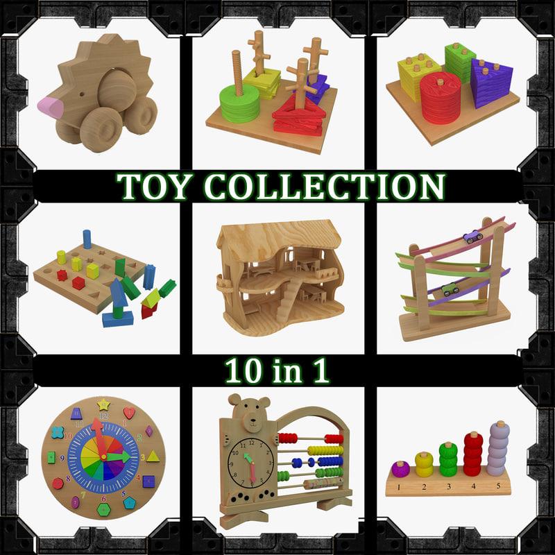 3d 10 toy model