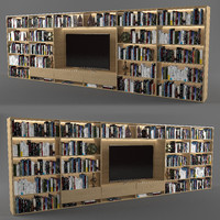 3d bookcase book