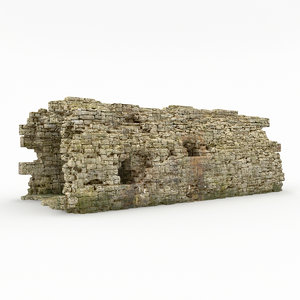 stone cliff 3d model