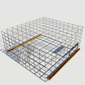 square fish trap 3ds