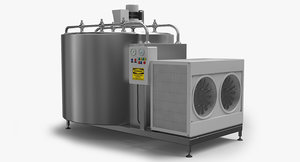 3d cooling tank model