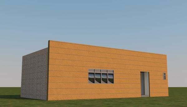3d model club house