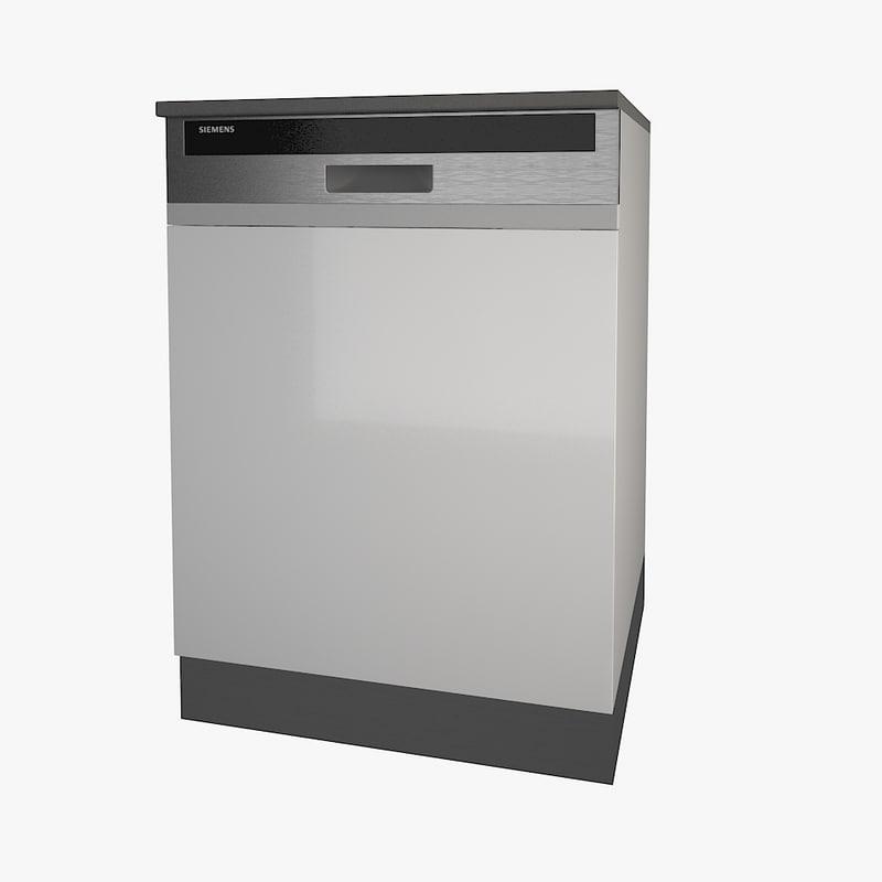 3ds siemens dishwasher
