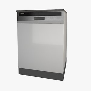 3ds siemens dishwasher