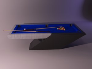 billiards table max
