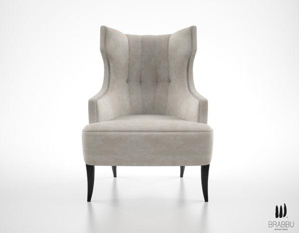 brabbu iguazu armchair 3d max