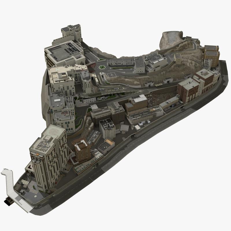 3d city makkah model
