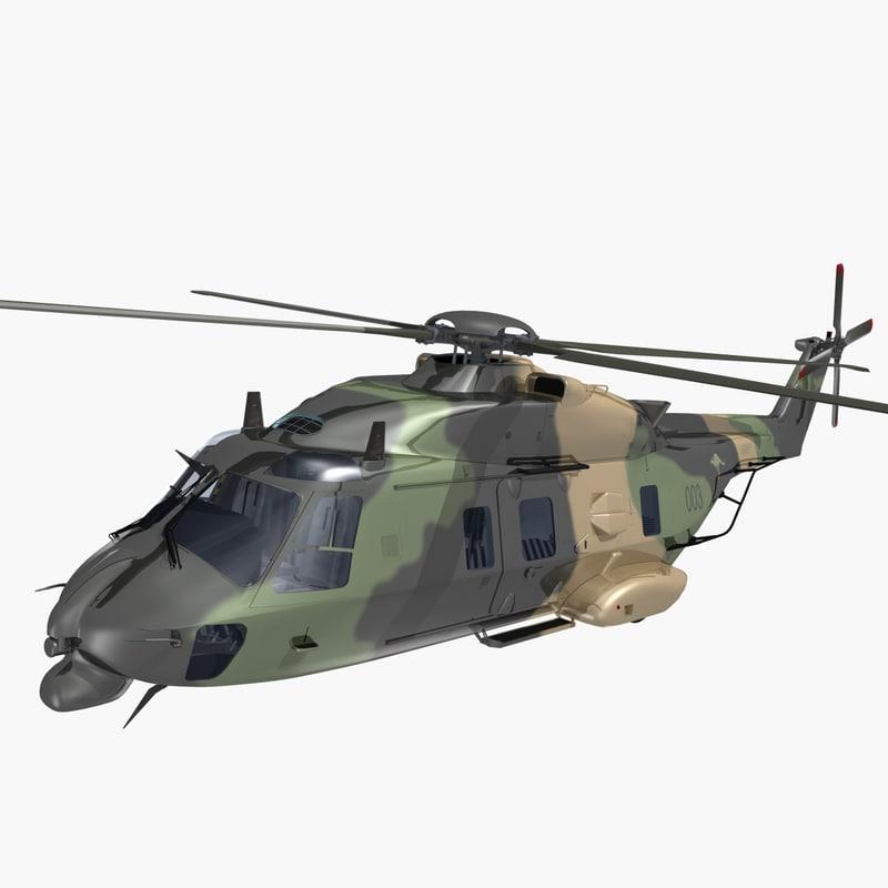 3d nhindustries helicopter australian model