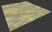 3d model desert 2