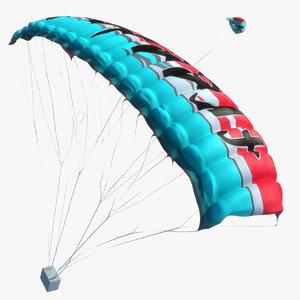 parachute animations max