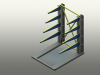 3ds max rack pipe