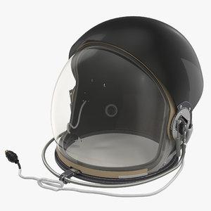 3d model advanced crew escape helmet