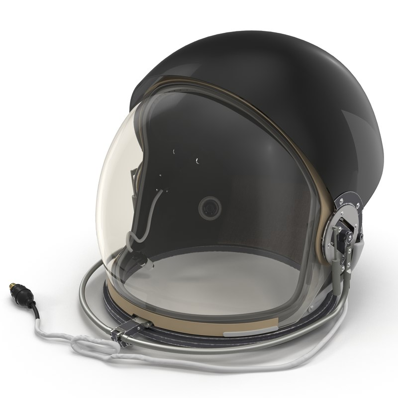 3d model advanced crew escape helmet