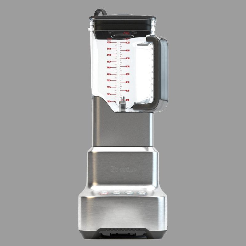 breville blender bbl800 3d max