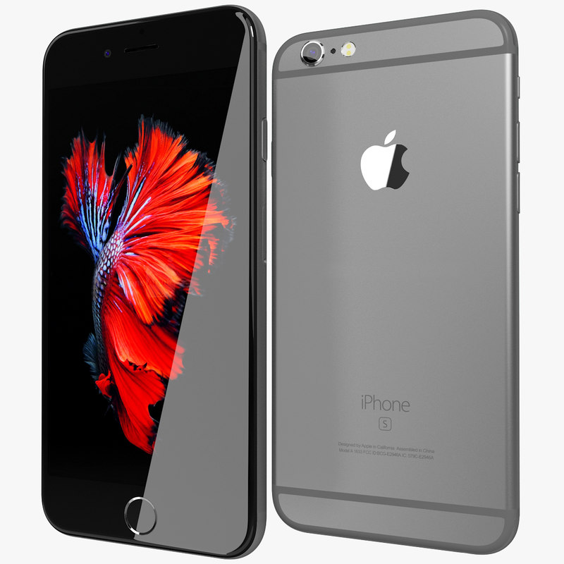 realistic apple iphone 6s 3ds