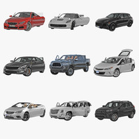 Generic Rigged Cars Collection