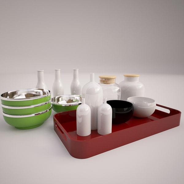 kitchen kit 3d max