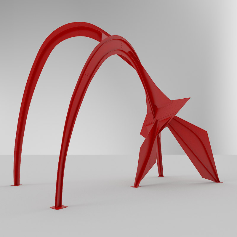 model flamingo sculpture