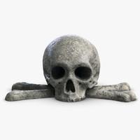 stone skull 3ds
