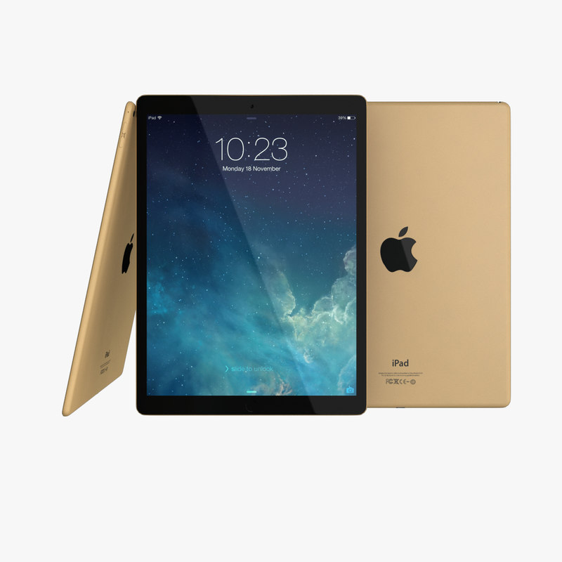 apple ipad pro - 3d obj