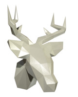 Deer Head (low poly)